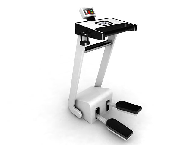 step machine stepper exercise equipment 3d max
