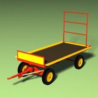 3d wagen model
