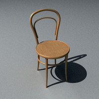 3d model of chair ton 311014