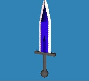 3d model mythril sword