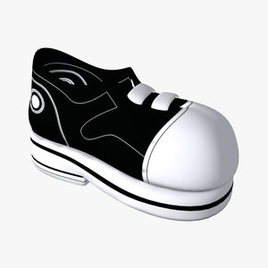 sport shoes 3d model