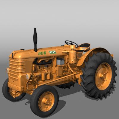 lightwave fiat 80 r tractor
