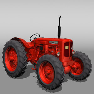 nuffield dt tractor 3d lwo