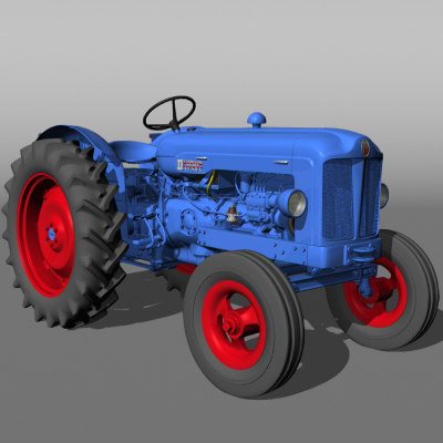 3d fordson mayor dex tractor