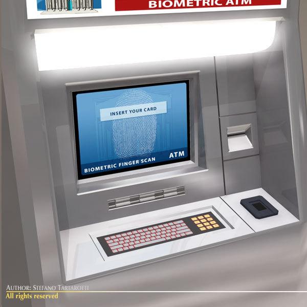 3ds max biometric atm
