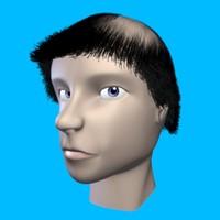 maya human head