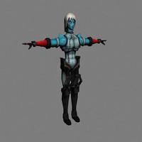 3d humanoid