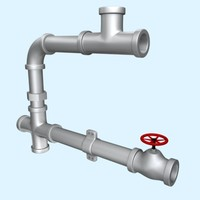 maya pipes valve joint