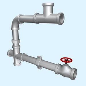 maya pipes valve joint