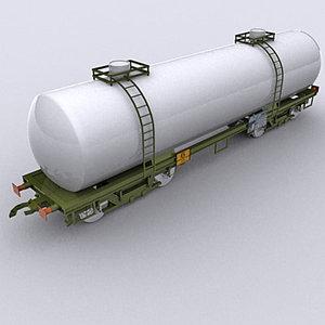 3d tank wagon