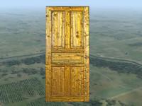 free door 3d model