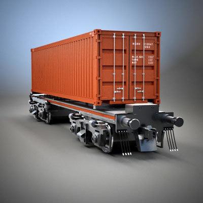 cargo wagon car 3ds