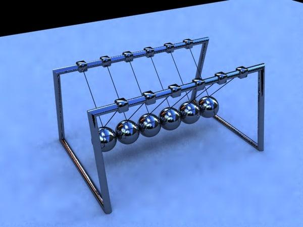 3d ball mobile model