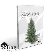 basic trees dvd xfrogplants 3d model