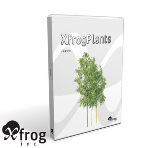 3ds max japanese trees japan dvd