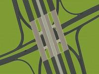 3ds 16 lane way bridge