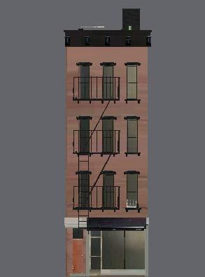 lightwave urban apartment building