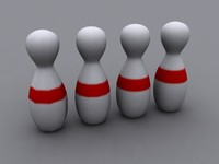 bowling pin 3d model