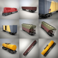 SD60 &Rail Cars