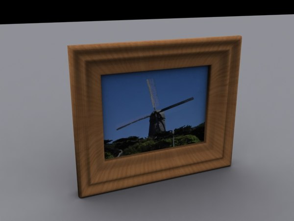 picture pictureframe frame 3d 3ds