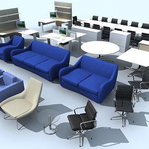 3d model furniture chair sofa