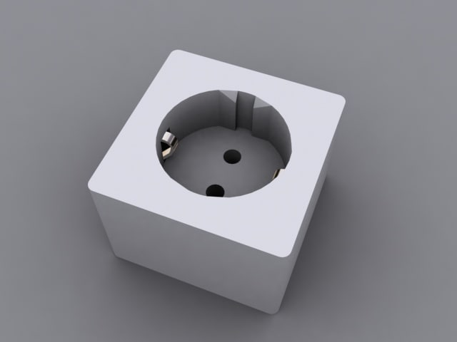 3d power socket