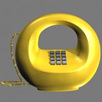 """1970""""s Donut Phone"""