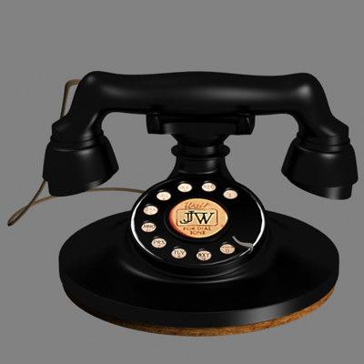 max 1920 style rotary telephone
