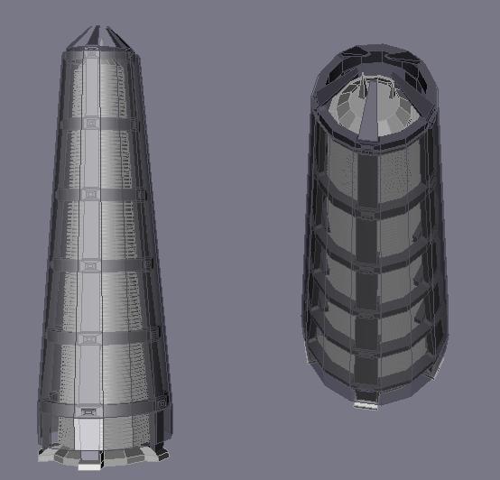 free max model skyscraper building