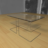 3dsmax designed table