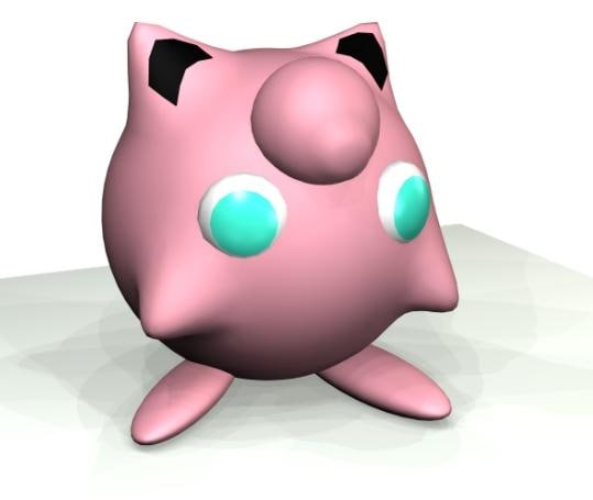 free pokemon 3d model