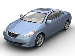 2006 toyota camry 3d 3ds