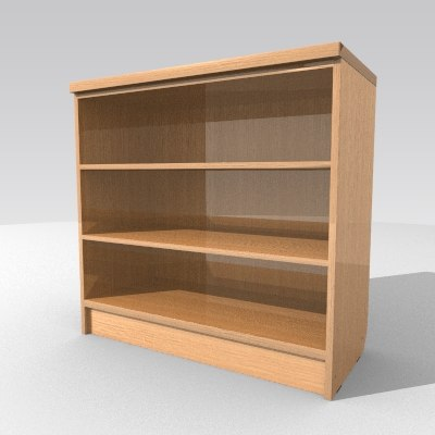 3d model cabinet bookstand