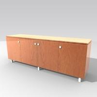 3d model cabinet sideboard