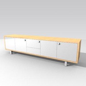 cabinet sideboard 3d model