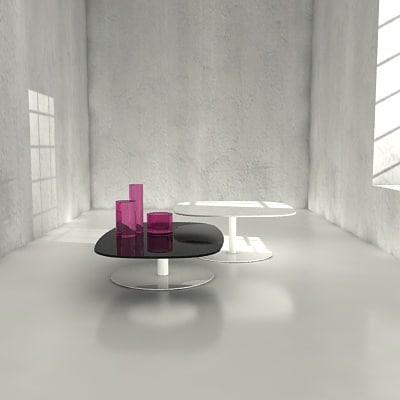 tables lissoni 3d model