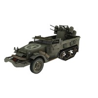 m-16 halftrack 3d model