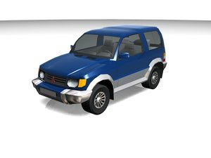 3d model montero vehicle