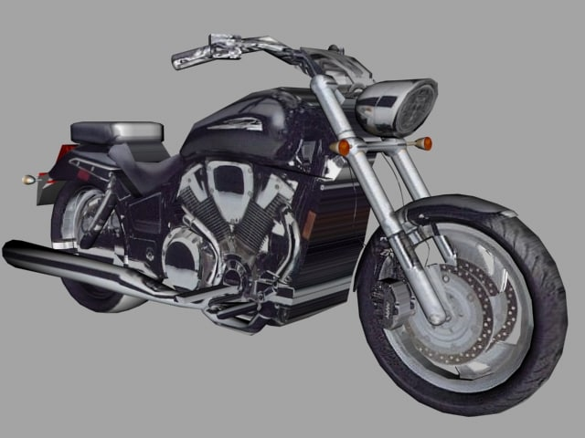 hvtx bike 3d max