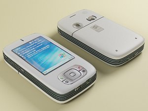 3d model pocket pc s110