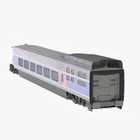 wagon passanger 3d 3ds