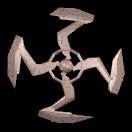 3d shuriken