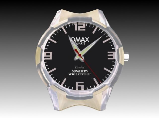 hand watch 3d max