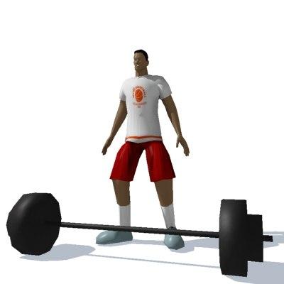 basketball player 3d model