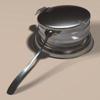 3d sugar bowl model