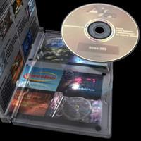3d jewel dvd case model