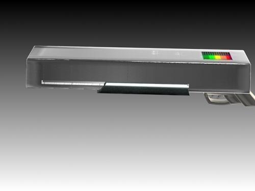 shotgun futuristic 3d model