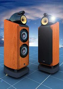 b w 802d loudspeaker 3d model