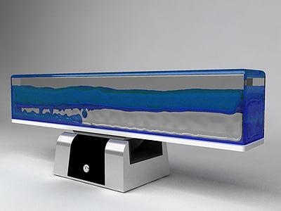 desktop liquid mixing display 3d max