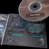 3d model case digipack